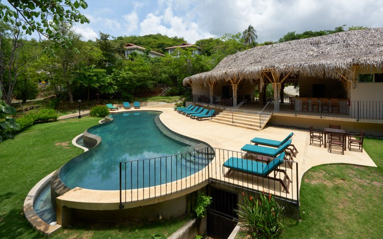 Playa Ocotal Beach Club located on Playa Ocotal. Call Krain for all your real estate needs in Guancaste.  Krain Has an office located in Playa Ocotal.