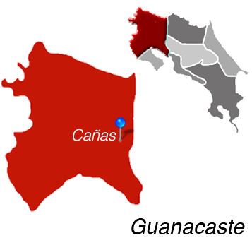 Canas Town Map