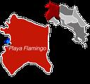 Playa Flamingo Town Map