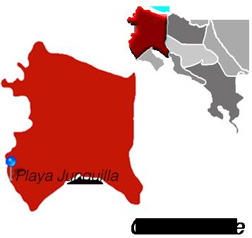 Map of Playa Junquillal