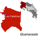 Las Catalinas Town Map