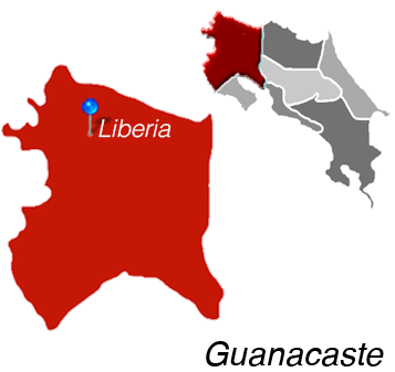 Liberia Town Map
