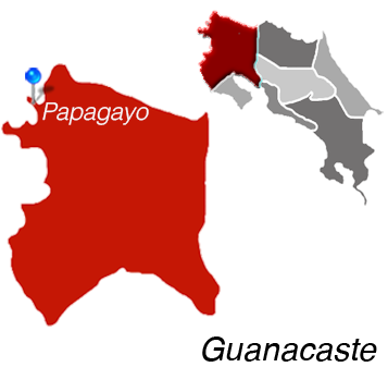 Map of Papagayo