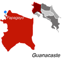 Papagayo Town Map
