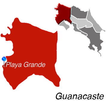 Map of Playa Grande