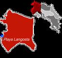 Playa Langosta Town Map