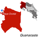 Playa Ocotal Town Map