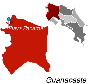 Map of Playa Panama