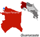 Playa Panama Town Map