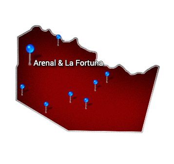 1. Northern   Arenal and La Fortuna