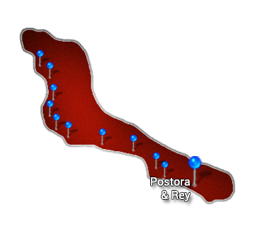10. Central Pacific   Postora and Rey