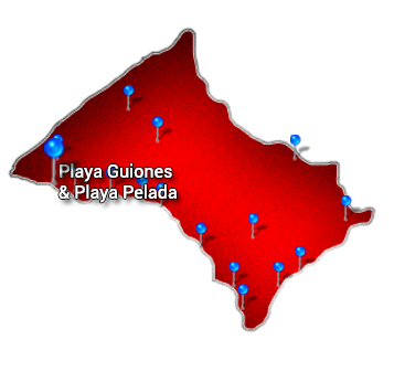 2. Nicoya   Playa Guiones and Playa Pelada