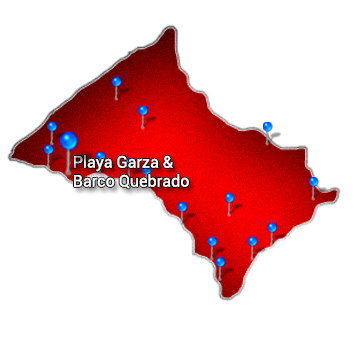 3. Nicoya   Playa Garza y Barco Quebrado