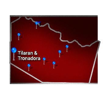 3. Northern   Tilaran and Tronadora