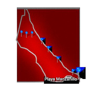 8. Caribbean   Playa Manzanillo