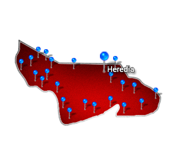 8. Central Valley   Heredia