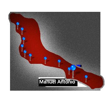9. Central Pacific   Manuel Antonio
