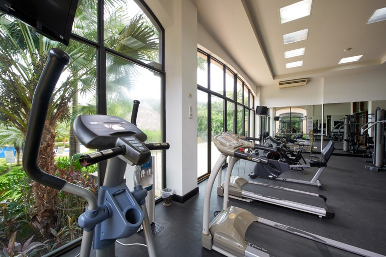 Gym include in hoa fees for Vista Ocotal and Ocotal Cove owners.  Membership privledges at Coco bay Estates