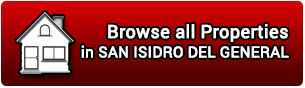 Properties for Sale in San Isidro del General